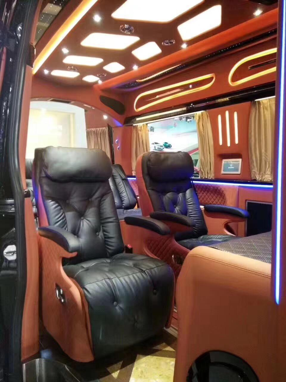 mpv顶级奔驰斯宾特商务房车 全球限量版