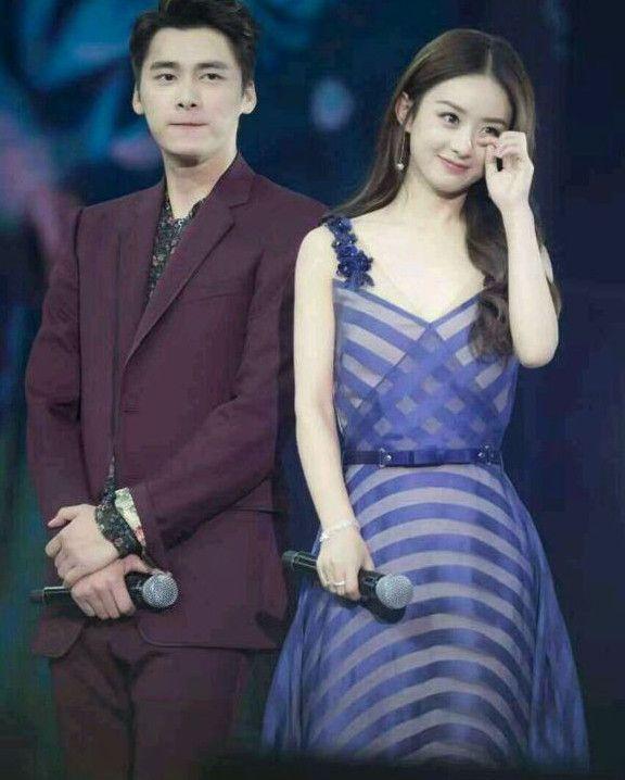 赵丽颖和李易峰的合照 真的很配