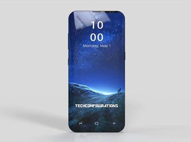 三星s9再曝: 90%屏占比 超窄边框, 完虐iphonex?