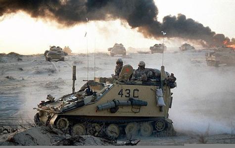 海湾战争,人类史上第一场高科技战争,惊醒沉睡中的中国军队图片