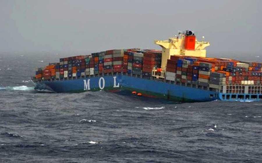 日本9万吨巨轮航行时拦腰折断!制造业钢铁造假成为国际笑话