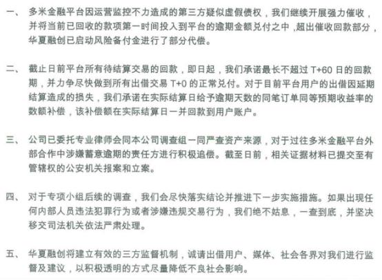 多米金融被爆逾期<wbr>兄弟平台天天利财被预警!