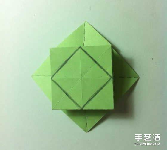 一张纸折四叶草 创意四叶草的折法步骤, 宝妈们和宝宝