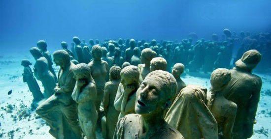 """神秘""""海底人"""" 史前人类的一个分支"""