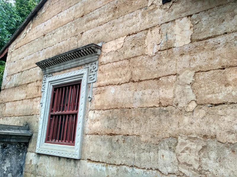 农村墙壁彩绘山水