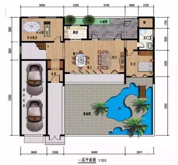 求一份别墅设计图纸 里面有平面图 卧室 卫生间 客厅的每个房间四个