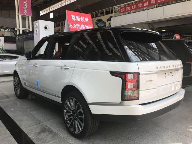 2017款路虎揽胜5.0创世加长版优惠12万天津最低报价