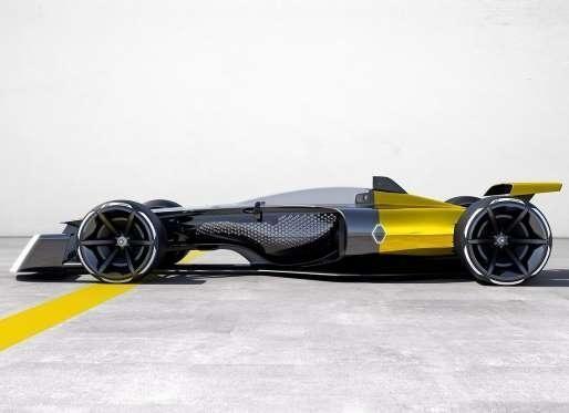 2017上海车展 雷诺推出未来f1概念赛车