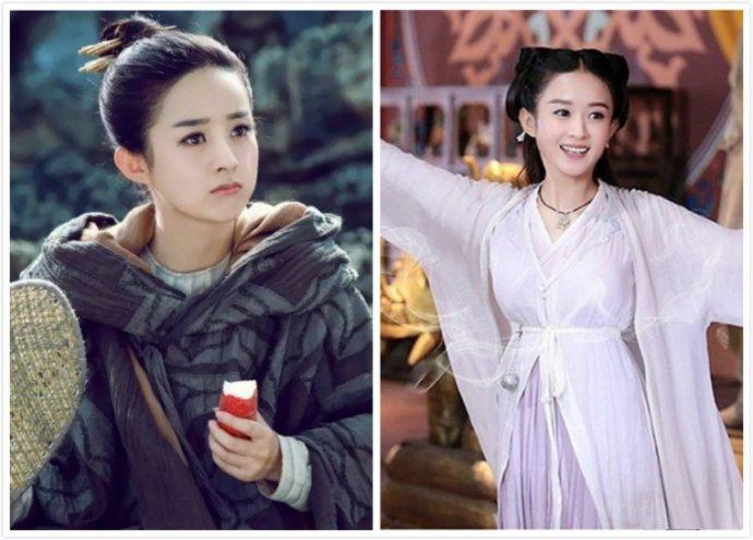 赵丽颖郑爽领衔古装美女扮相,哪一个最让你心动?