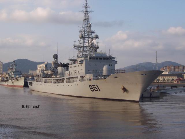 中国海又一电子侦察船下水但仍须大力发展赶超美
