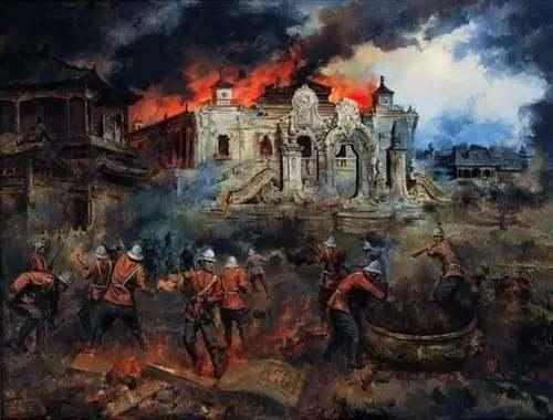 圆明园被烧毁前的照片, 惊艳绝伦, 举世无双