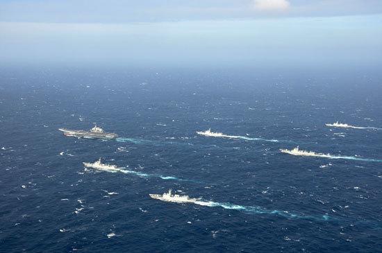 一样建立12个航母编队