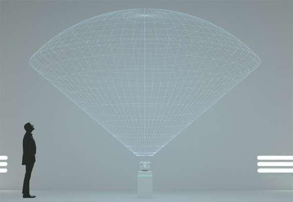 bleen 3d全息投影仪智能设备