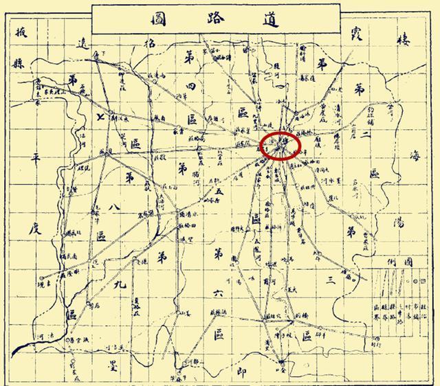 莱阳地图高清版