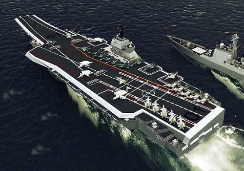 中国第二艘航母即将下水, 剑指美岛链, 打破其封锁