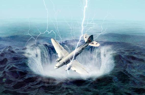 百慕大三角飞机神秘失踪事故真凶: 不是外星人而是它