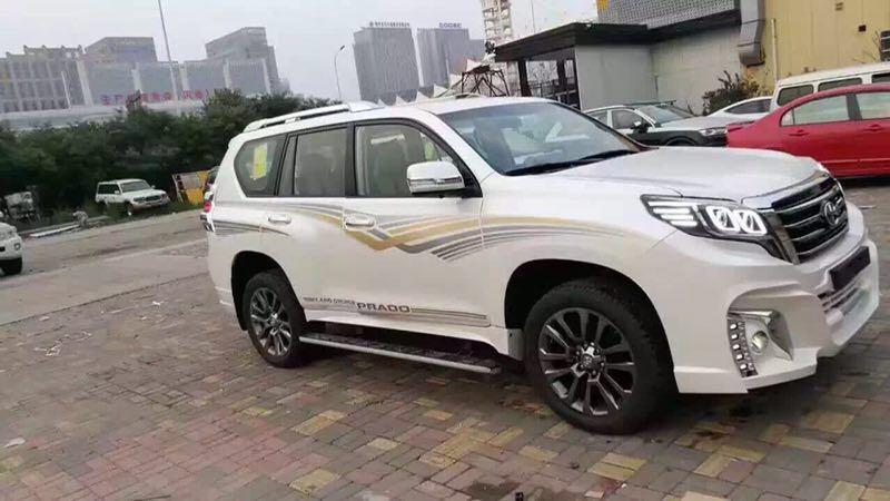 2017款中东版丰田霸道2700内蒙古最低报价