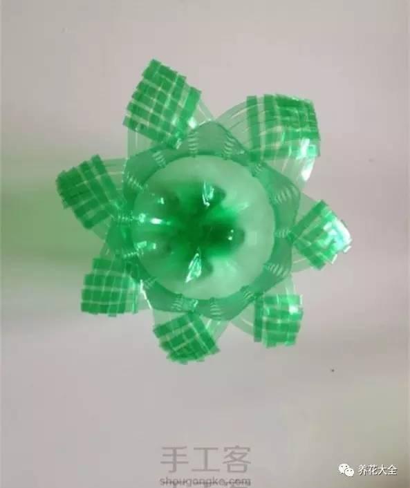 塑料瓶手工制作花盆_看完这些塑料瓶做的花盆, 我开始
