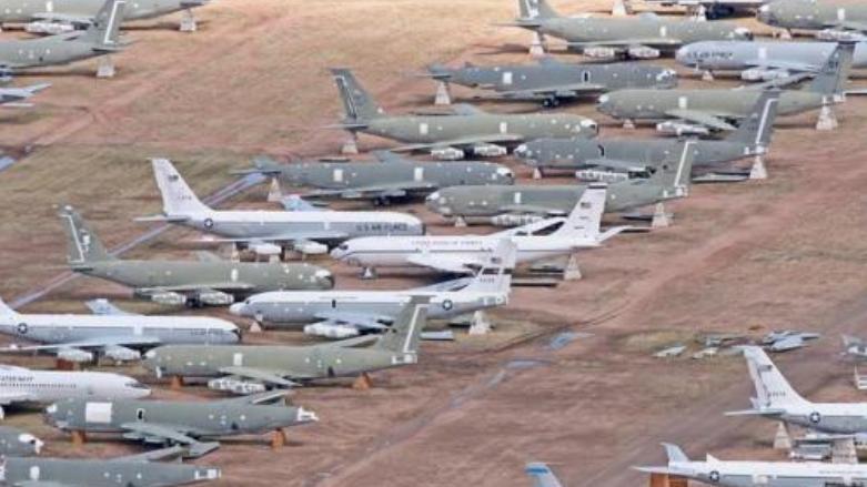 世界第二大飞机坟场, 就在中国一个小县城, 存着约2000架战机