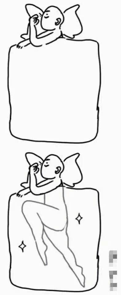 单身狗才能达到的睡姿, 你是哪一种?