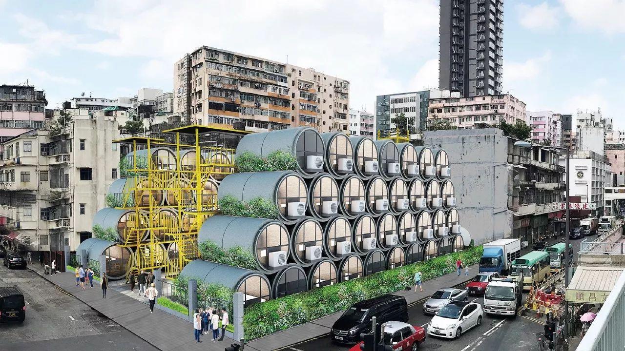 """为了香港穷人不再蜗居,继""""棺材房""""之后又用""""水泥管""""做成了房子"""