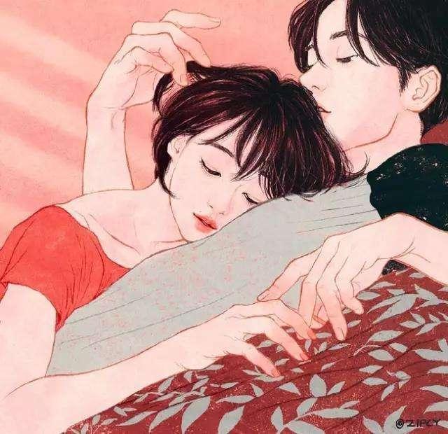 你口红那么艳, 一定很好睡