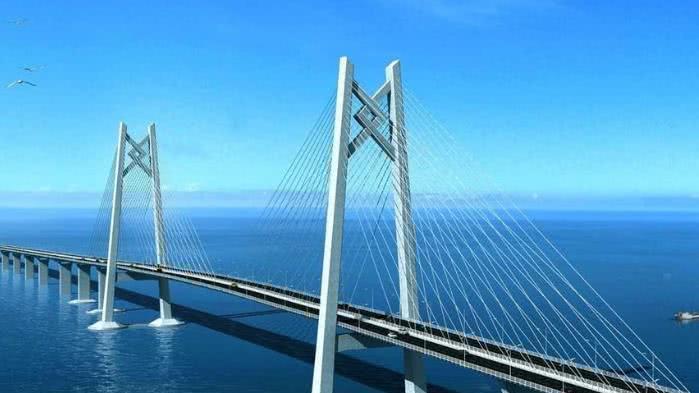 """海水那么深, 大桥的桥墩竟是这样""""埋""""进去的, 多年疑惑终于解了"""