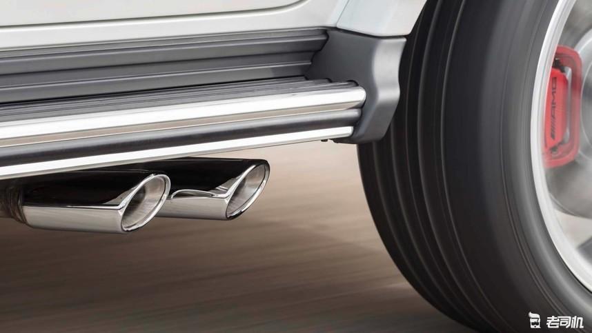 全新amg g 63采用全铝合金车身和更加轻量化的梯形框架