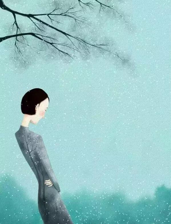 要是世间的等待都如风吹花落般那么默契, 该有多好