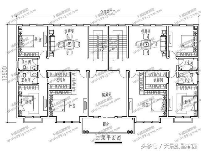 农村建房图纸8x12