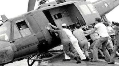 美国最仓皇的一次撤军,18小时撤退7千人,连直升机都不要了