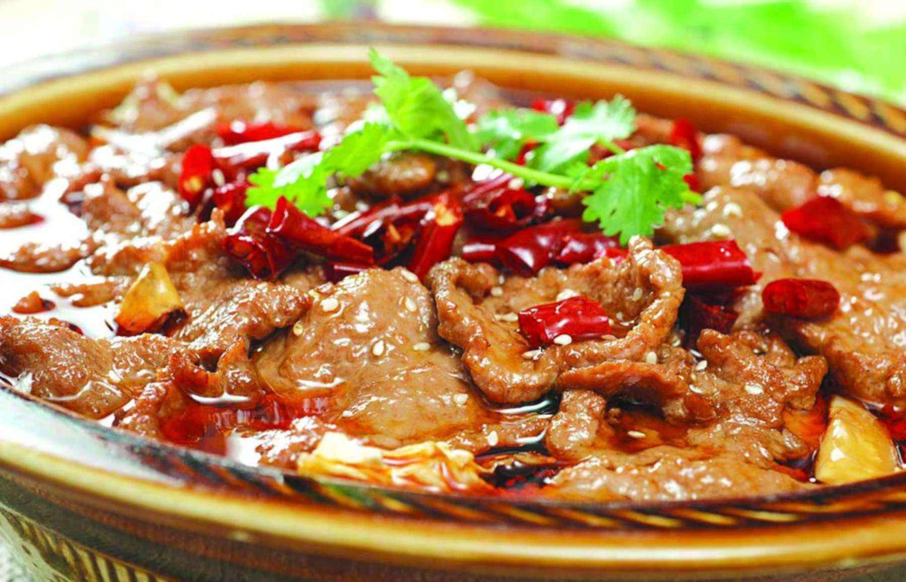 传统川菜水煮牛肉的来历