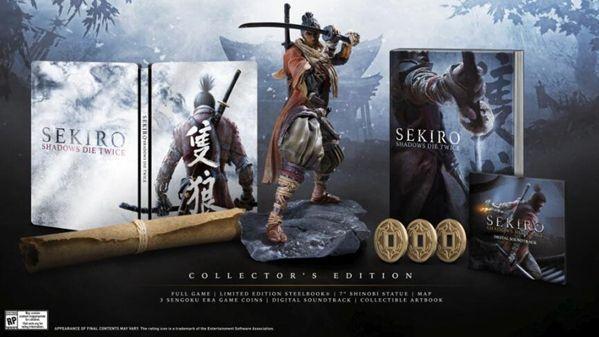 日本零售商GEO推出《只狼》限量版铁盒套装