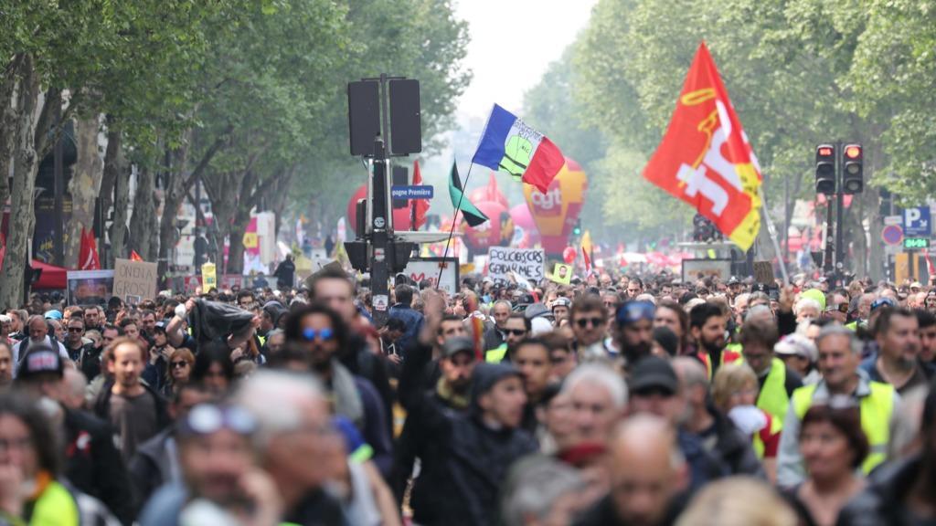 马克龙减税奏效?持续25周法国黄背心示威者人数跌至新低