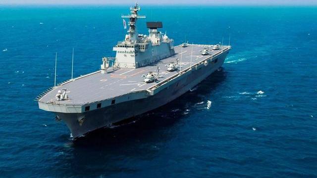 日韩现在有能力造4万吨以上大舰吗?