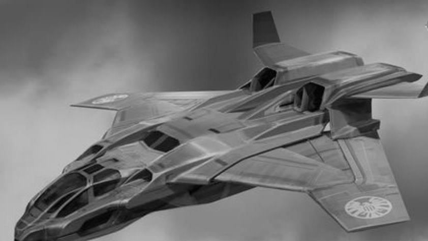 变形金刚动漫人物:MTCD鲲式战机形态的天火与擎天柱的合体