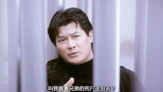 他17岁演学生王子出名,刘德华曾被他提携,演黑帮题材得心应手
