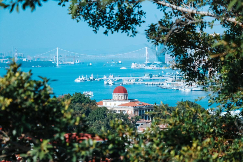 厦门最受欢迎三大景点, 鼓浪屿第三, 厦门大学第二