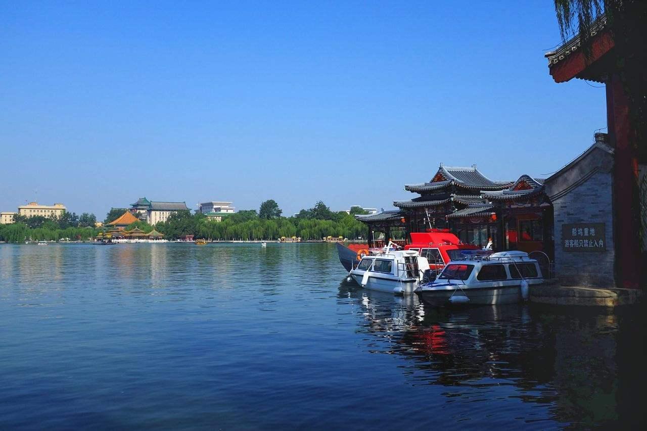 北京这个公园从地图上看这明明就是个湖,为什么被称为海呢?