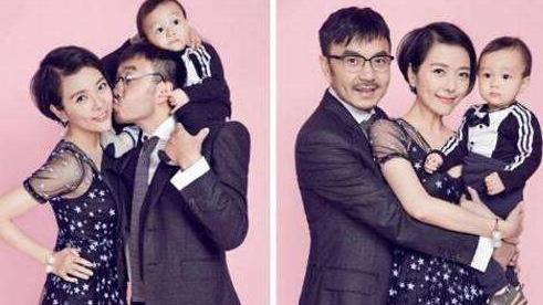 汪涵4歲兒子久違露面,細節暴露楊樂樂會持家,汪涵真是娶了個好媳婦!