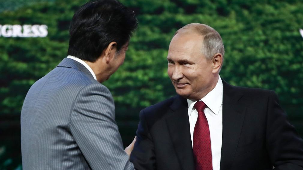 日媒: 强势俄方令日本政府在和约谈判上极端被动