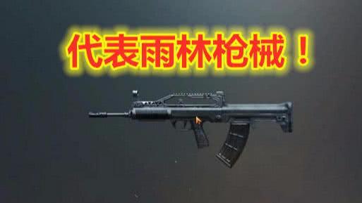 绝地求生:雪地代表枪械G36C,雨林代表枪械QBZ,海岛…