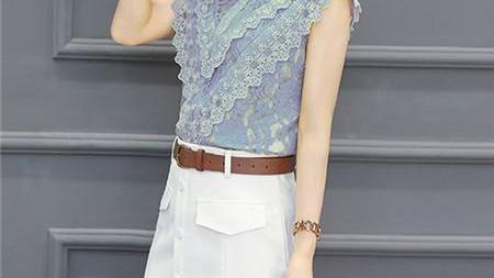 155以下女看这里,穿七月最洋气的小香风套装,时髦优雅显高挑