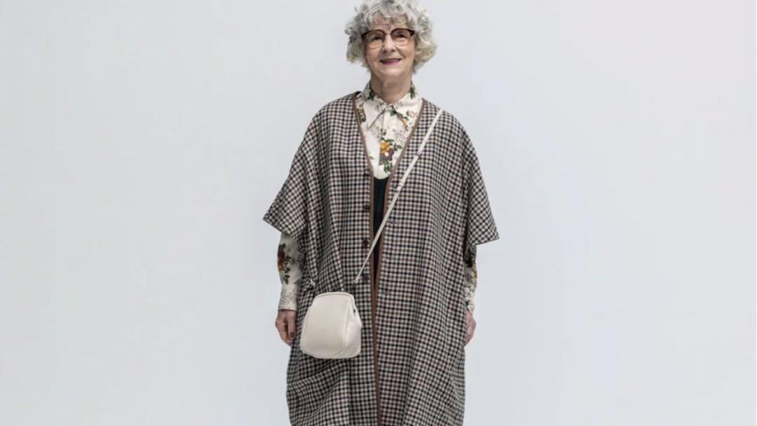 英伦老奶奶的时尚穿搭,到了80岁还能这么美!
