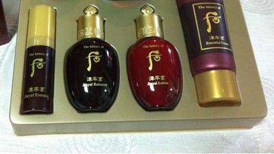 与大家讨论韩国十大名牌化妆品之一whoo后系列