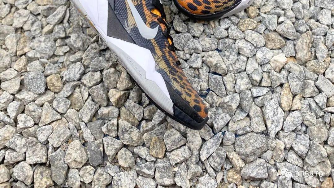 Nike Zoom Kobe 7 Cheetah 豹纹 专业实战篮球鞋
