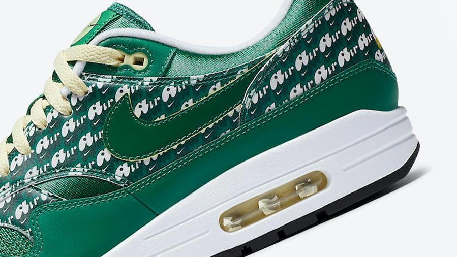 绿色柠檬水主题!Nike Air Max 1 经典配色将于本月回归!