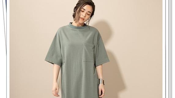 纯棉T恤连衣裙的15个日系穿搭look,舒适好穿
