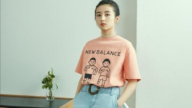 张子枫代言新百伦,日常穿搭也可以又美又飒,你心动了吗