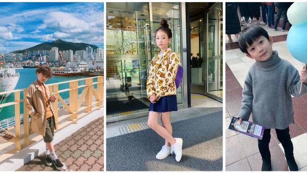 【韩风时尚宝贝】跟着韩国「童界超模」学穿搭,让小孩化身秋季潮童!